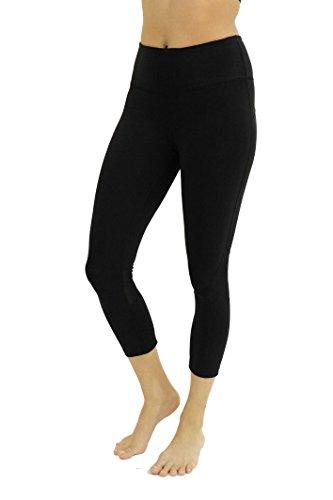 CS401567-BB-S Christian Siriano New York Yoga Capri Pants for Women