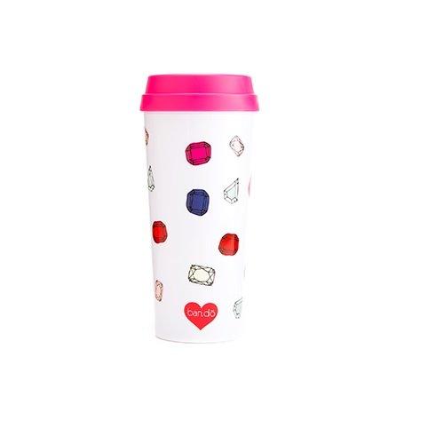Ban.do 40730 Hot Stuff Thermal Mug, Gems