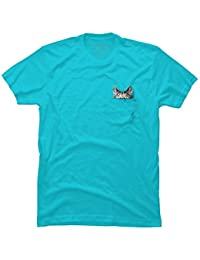 Design By Humans Gangster Cat V.II Girls Youth Graphic T Shirt
