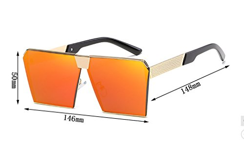 de conducción SunglassesMAN Ultra Light de de Yxsd Color 1 Sol Metal para Hombres Gafas Deportiva 5 Marco qwUwvpXnT