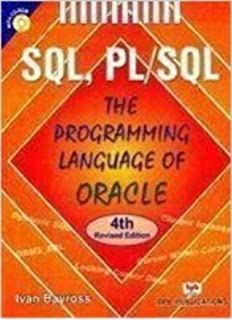 Advanced Pl Sql Programming Pdf