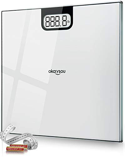 (Okaysou All-New Digital Body Weight Bathroom Scale with Large 3.6