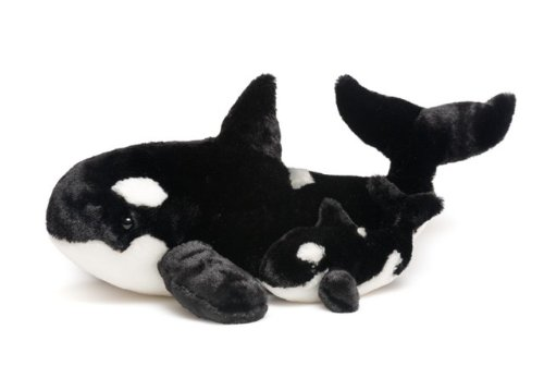 (Whale and Baby Plush Set)