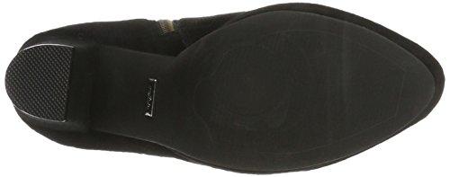 10645 Boots Buffalo Black 410 Women's Kid Suede 01 L Black Ankle EnfESw0qr