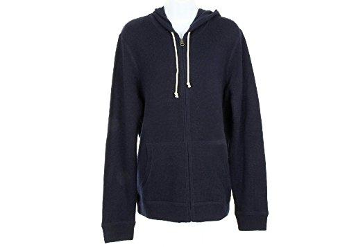 J Crew Italian Cashmere Zip Hoodie Size S Style# 29232 Blue New (Zip Italian Hoodie)