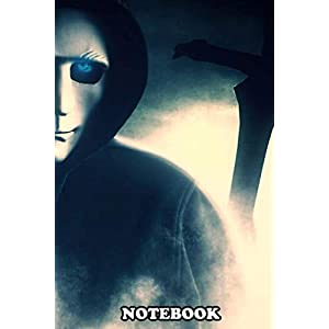 """Notebook: This Is What A Face Of Vengeance Looks Like Grimy Qui , Journal for Writing, College Ruled Size 6"""" x 9"""", 110 Pages"""