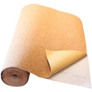 Natural Cork Board Textured Vinyl Wrap Underlayer Contact Shelf Paper Adhesive Roll Drawer Liner (17.8'' x 20ft) by VViViD (Image #2)