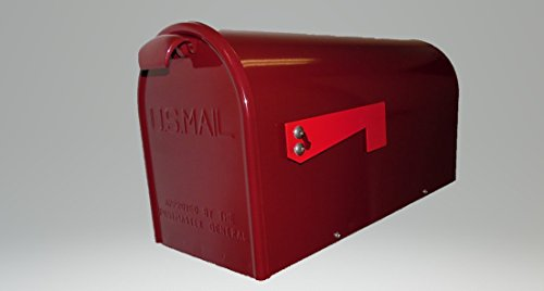 Newport Mailbox Finish: Burgundy (Finish Burgundy)