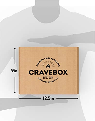 CraveBox Care Package (45 Count) Snacks Food Cookies Granola Bar Chips Candy Ultimate Variety Gift Box Pack Assortment…