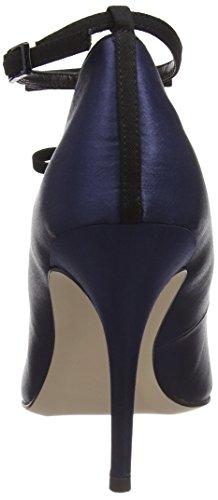 Scarpe Blu Paper Donna Tacco Dolls Marigold Chiusa col Navy Punta TTaEw8q7