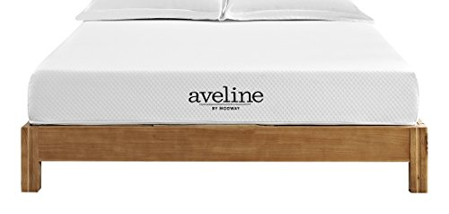 Modway Aveline 8' Gel Infused Memory Foam Queen Mattress With CertiPUR-US Certified Foam - 10-Year Warranty - Available In Multiple Sizes