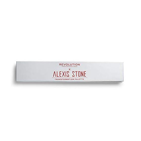 Makeup Revolution X Alexis Stone The Transformation Palette, Multicolor Color, 8 g