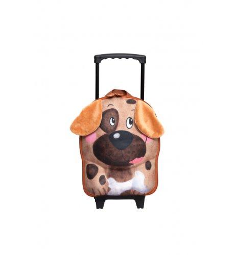 Okiedog Wildpack Trolley Rolling Kids Bag - Dog