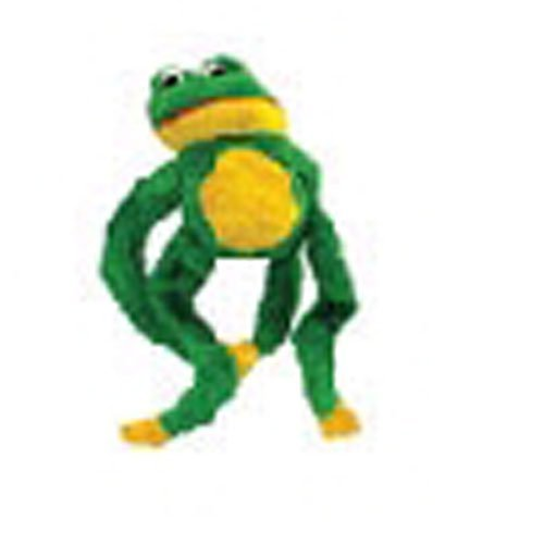 Diggers Plush Frog Dog Toy by Boss Pet Products