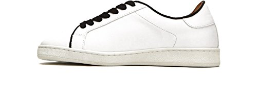 FRYE 79981 Black Women's Sneaker Lace Low Alexis White qqfdwr1