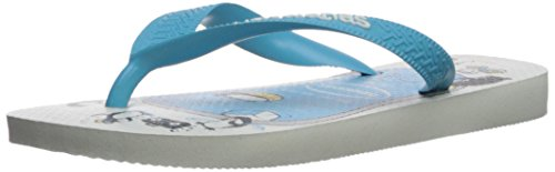 Pictures of Havaianas Kid's Top Play Sandal (Toddler/ White 1