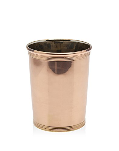 Godinger Mint Julep Cup with Double Gauge, Copper by Godinger