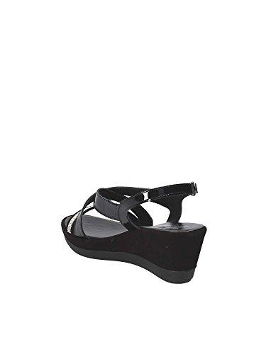 Black Women Wedge 271629 Susimoda Sandals ItqRPzw0