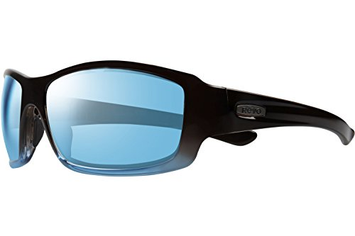 Revo RE 4057 05 BL Bearing Sunglasses, Brown Marine Frame, Blue Water 64mm - By Nasa Sunglasses Used