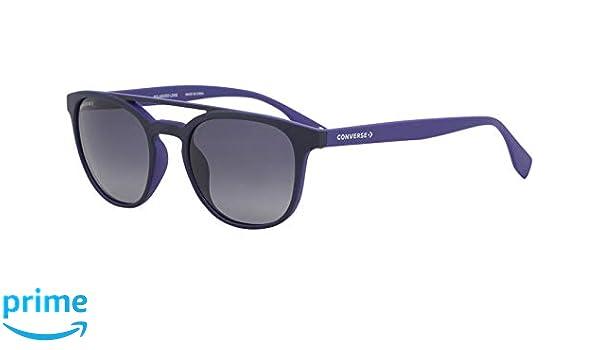 ac258ded062 Amazon.com  Converse All Star SCO049 Sunglasses Matte Navy w Polarized Dark  Blue Gradient Lens 52mm 7U3P SCO049Q SCO 049Q SCO 049  Clothing