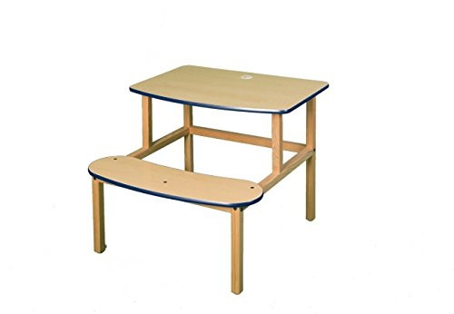 Wild Zoo Student Desk for 1 or 2 Kids - Maple