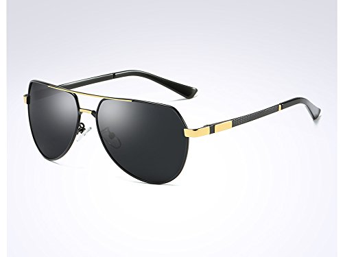 UV400 Hommes Designer Lunettes pour Hommes gray de HD de Pilote TL Sunglasses black Lunettes Les Sunglasses Soleil Polarisées Lunettes gold w5RxWOWPqB