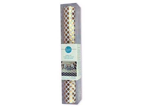 with Love by Momenta Gold Dot Paper Roll - Pack of 6