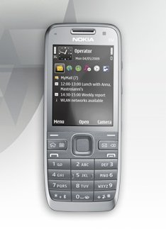 Nokia E52 Unlocked Cell Phone w/GPS, WiFi, Bluetooth, Symbian/International Version