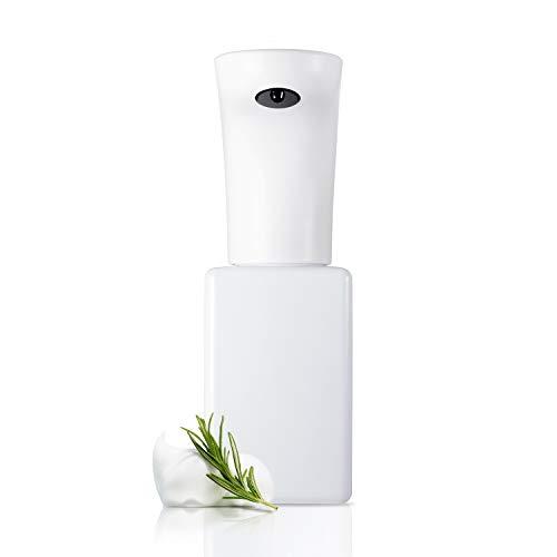 Lebath Automatic Foam Soap Dispenser, Touch-Free Sensor Soap Pump, Rechargeable (White, 15oz 450ml)