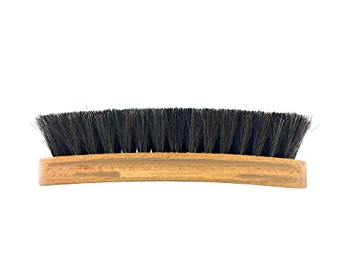 Bickmore Shoe & Boot Shine Brush - 100% Horsehair - Cleaning Brush Great For Waxing, Polishing, Buffing Finished Leather (Justin Vintage Boots)