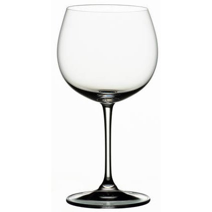 Riedel Vinum XL Leaded Crystal Oaked Chardonnay Wine Glass, Set of 4