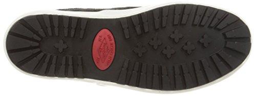 Pepe Jeans RIPLEY PLAIN PONY - Zapatillas de casa de cuero mujer negro - Schwarz (999BLACK)