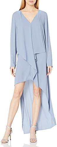 BCBGMAXAZRIA Damen Kyndal Asymmetrical Dress Kleid