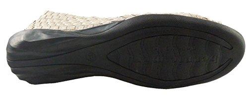 Bernie Mev Women's Dream Slip-On Flats Shoes Open Toe Light Gold amazing price for sale o9tnysQF0Y
