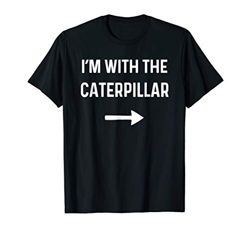 With the Caterpillar Shirt Funny Halloween Costume -