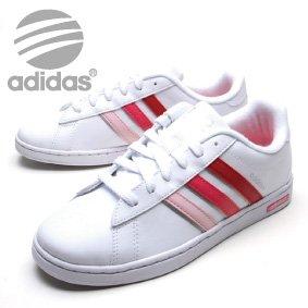 adidas スニーカー ホワイトピンク