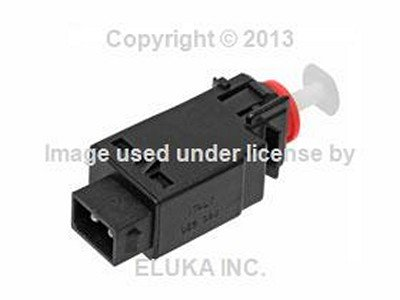 BMW Genuine Brake Light Switch (2 Pin Connector) for 635CSi M6 524td 528e 533i 535i M5 318i 318is 325e 325i 325ix M3 735i 750iL 318i 318is 318ti 320i 325i 325is - Light Brake Switch E30