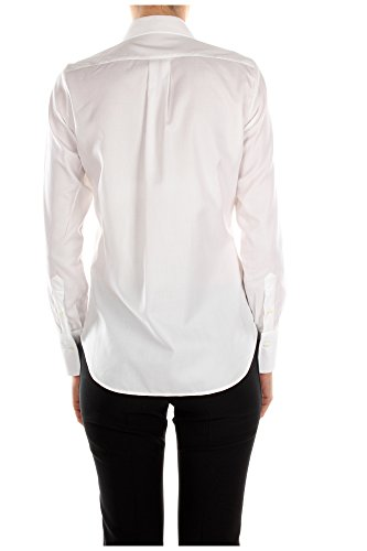 Mujer Blanco Algodón JB3AB02E1F50BO Valentino Blanco Camisas 8cqaTqPSA