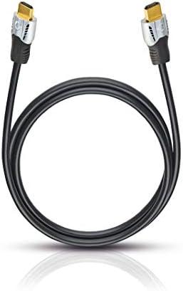 Oehlbach Matrix Evolution HS HDMI-kabel met Ethernet 18 m zwart