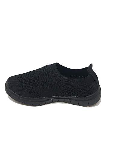 Ameta Sneakers Tennis Shoes Black//White Kid/'s Size 13
