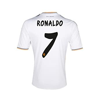 Adidas Real Madrid C.F. – Camiseta de fútbol para niño (Ronaldo 7) – 14