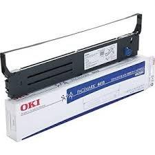 41708210 Ribbon - Genuine Brand Name OEM Okidata Black Nylon Printer Ribbon Microline 8810/8810N 41708210