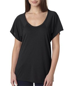 c8d43ff93 Bella B8801 3.7 oz. Ladies Melody Flowy T-Shirt - Black - 2XL - Buy Online  in UAE. | Apparel Products in the UAE - See Prices, Reviews and Free  Delivery in ...
