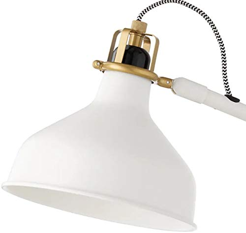 Amazon.com: IKEA - Lámpara de trabajo RANARP, color blanco ...