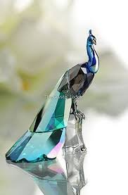 Swarovski Crystal SCS 2013 Peacock, Collector's Piece