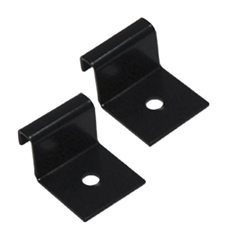 - ICC Ladder Rack Runway Wall Bracket Pack Of 2 Black