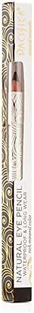 Pacifica Beauty Natural Eye Pencil, Jet, 0.1 Ounce