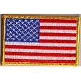 Parche Bordado Bandera Estados Unidos - 9 x 6 cm