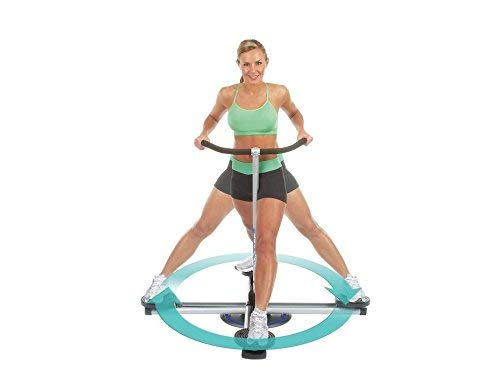 Thigh Glider Squat Machine Leg Master 360 Degree Circle Glide Power Press Push up Machine - The Perfect Chest Workout Training System