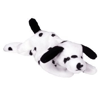 BEANIE BABIES Ty Dotty The Dog (Beanie Baby Dog)